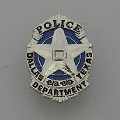 Dallas Police Department souvenir pin