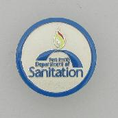 Fort Smith Sanitation sales campaign pin