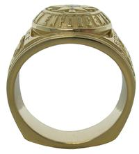 #1586 Texas Law Enforcement ring with a heavy, solid, squared-base shank with extra metal at critical wear points.