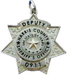 f09edb6e039 sterling silver custom 3D sculpted mini-badge jewelry pendant, seven & point  star design