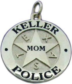 Flower Delivery Houston on Sterling Silver Or White Gold  Custom 3d Police Officer Badge Pendant